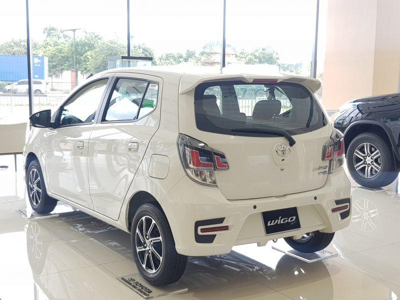 Ngoại Toyota WIGO 5MT Gọn nhỏ lướt phố